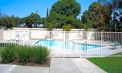 Pool, Parkside Apartments, 1