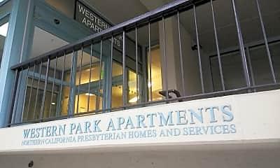 Western Park Apartments, 1