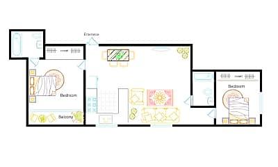Living Room, 2918 Arizona Ave, 1