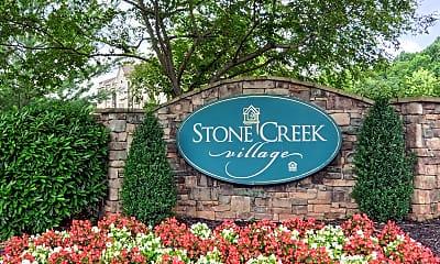 Community Signage, Stone Creek Village Apartments, 2