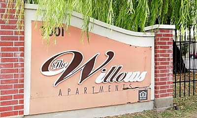 Community Signage, The Willows Apartments, 2