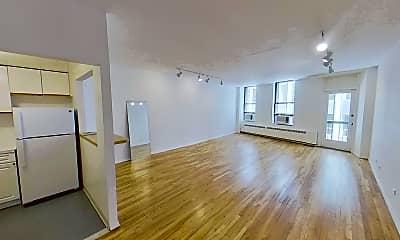 Living Room, 56 Beaver St 205, 1