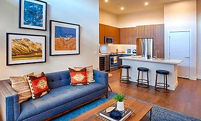 Living Room, 201 E Mississippi Ave, 1