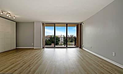 Living Room, 4 Monroe St 704, 1