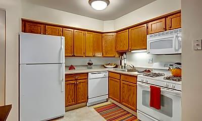 Kitchen, Blackhawk Apartments, 1