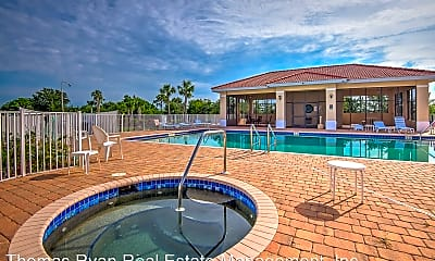 Pool, 240 West End Dr, 1
