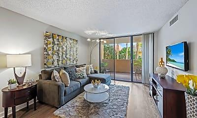 Living Room, Meadow Walk Apartments, 0