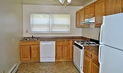 Kitchen, Georgetown Apartments, 2