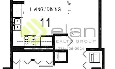 Bathroom, 1122 W Catalpa Ave, 2