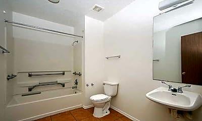 Bathroom, Hillridge, 2