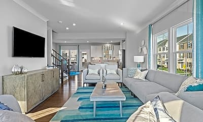 Living Room, Plaza Dr, 1
