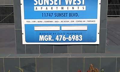 Sundial Sunset-West, 1