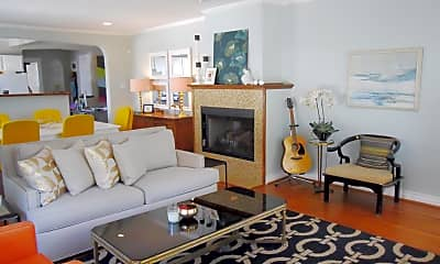 Living Room, 4512 Swiss Avenue, 1