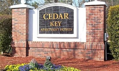 Cedar Key Apartments, 1
