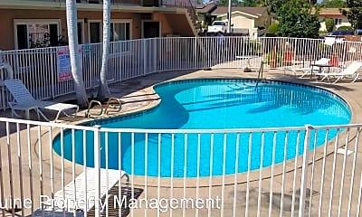 Pool, 1130 S Lemon St, 1