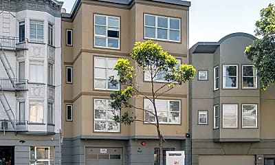 Building, 1549 Lombard St, 2