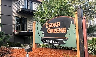 Cedar Greens Apartments, 1