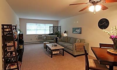 Living Room, Park Apartments, 1