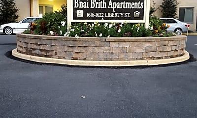 B'nai B'rith Apartments, 1
