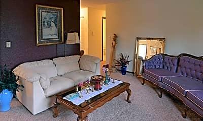 Living Room, North Shore Apartments, 1