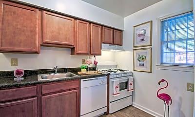 Kitchen, Berkshire & Barter Court Apartments, 0