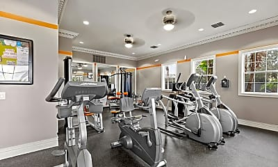 Fitness Weight Room, Savannah At Park Central, 2