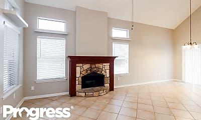 Living Room, 8440 Auburn Drive, 1