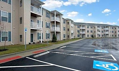 Building, Glenwood Square Senior Apartments, 2
