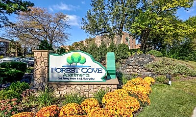 Community Signage, Forest Cove, 2