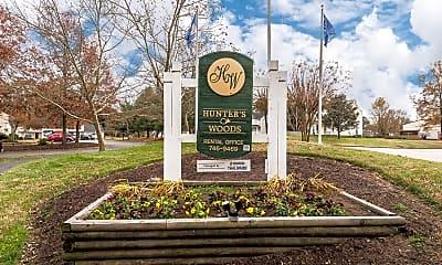 Community Signage, Hunter Woods, 0