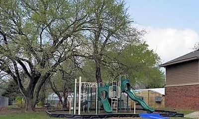 Playground, Coffeyville Garden Apartments, 1