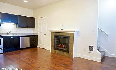 Living Room, 1100 & 1120 SE Sherman St., 1