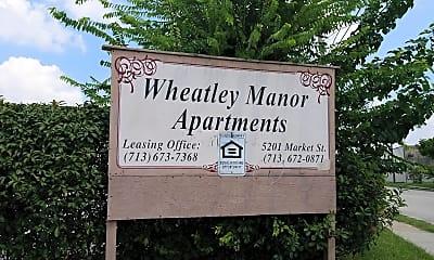 Wheatley Manor, 1