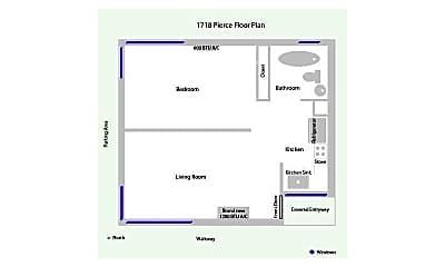 1718 Pierce St 1, 2