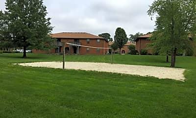 Recreation Area, Green Tree Apartments, 1