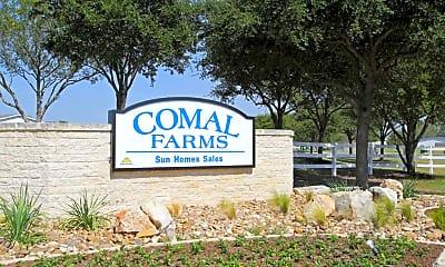 Community Signage, Comal Farms, 1