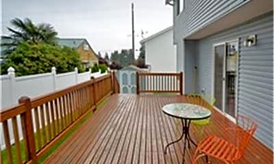 Patio / Deck, 6604 Wetmore Ave, 2