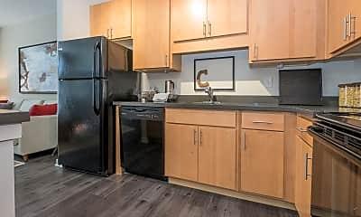 Kitchen, Circa Apartments, 1