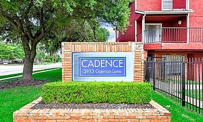 Community Signage, Cadence, 1