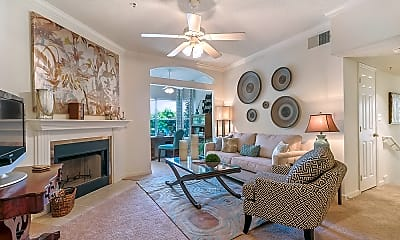 Living Room, Lakes of Chateau North, 1