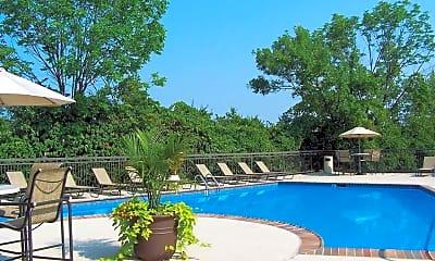 Pool, Patchen Oaks Apartments, 0