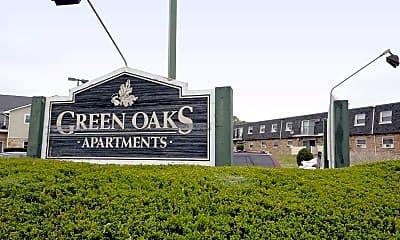 Community Signage, Green Oaks Apartments, 1