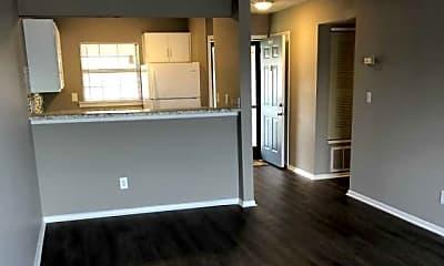 Living Room, Magnolia Apartments, 1