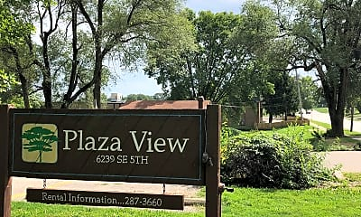 Plaza View Apartments, 1