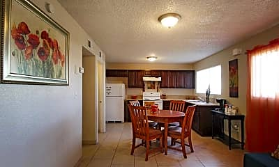 Dining Room, Greenville Park Apartments, 1