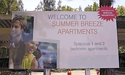 Community Signage, Summer Breeze, 2