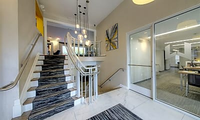 Clubhouse foyer, Woodbury Gardens Apartments and Townhomes, 1