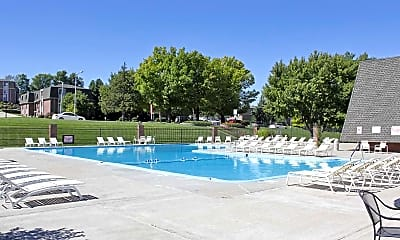 Pool, Citadel Apartments and Townhomes, 1