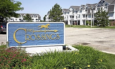 Community Signage, The Crossings, 2