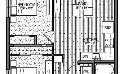 Bedroom, 4055 Inca St, 2